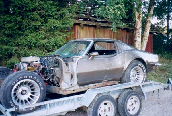 Corvette deler